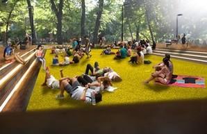 Стало известно, что будет на месте старого бассейна в парке Шевченко (ФОТО)