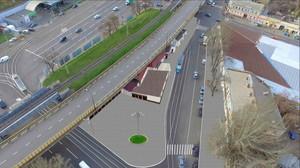 В Одессе у Пересыпского моста перестроят рельсы и уменьшат количество МАФов (ФОТО)