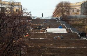 Горсовет решил не увеличивать финансирование ремонта Гигантской лестницы в Одессе