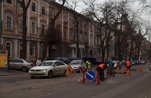 Одесскую улицу Преображенскую закрывают на ремонт