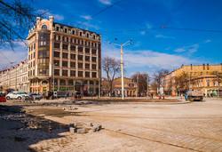 В Одессе почти завершился ремонт Тираспольской площади