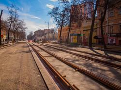 Центр Одессы разворотили: на улице Преображенской снимают рельсы