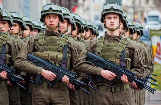 В Одессе на Думской площади отметили юбилей Нацгвардии
