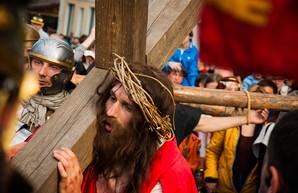 В Одессе показали последний путь Иисуса Христа на земле (ФОТО)