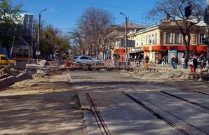 Реконструкция улицы Преображенской в Одессе расширяется