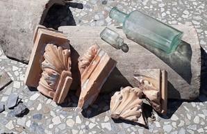 Реставрация одесской Воронцовской Колоннады продолжается: найдено утраченное основание и амфитеатр (ФОТО)