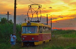 """Как выглядит конечная одесского """"камышового"""" трамвая у лимана (ФОТО)"""