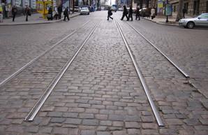 Как выглядел последний остаток узкоколейного трамвая в центре Одессы (ФОТО)