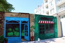 В центре Одессы появился новый арт-объект вместо испоганенного вандалами-граффитистами забора (ФОТО)