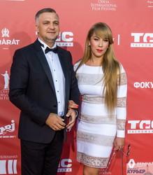 Член исполкома Александр Ахмеров и депутат горсовета Светлана Осауленко