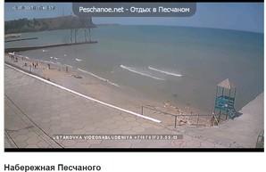 """Пляжи Крыма в пик туристического """"не сезона"""""""
