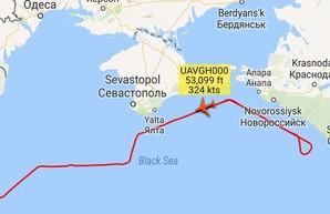 """Под присмотром """"большого брата"""" - RQ-4 Global Hawk просканировал Крым"""