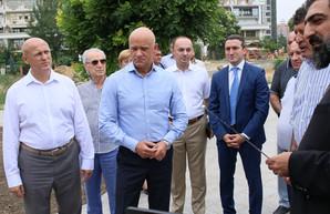 В Одессе обещают создать Ереванский сквер