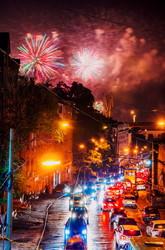 7000 залпов, молнии, дождь и пробки: в Одессе запустили фестиваль фейерверков (ФОТО)