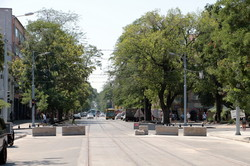 Реконструкция Преображенской: новые рельсы готовы от Тираспольской до Дерибасовской (ФОТО)