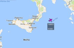 P-8 Poseidon ВМС США снова присматривает за Черным морем