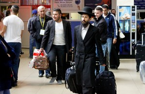 Одесский аэропорт принимает хасидов-паломников