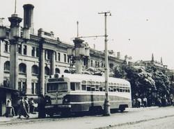 Фото дня: как одесские трамваи собирались в пробки у вокзала