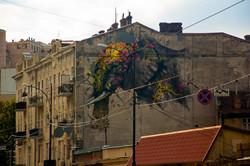 В центре Одессы появились птица и танцующий слон (ФОТО)