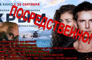 """Раздутые рекорды фильма """"Крым"""""""