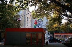 Сегедская и санаторий Чкалова в Одессе обзавелись муралами