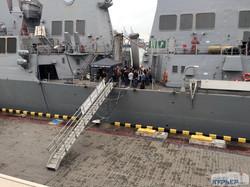 Эсминец ВМС США, взволновавший умы россиян, уже в Одессе