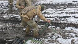Украинские силы специальных операций получили новые 60-мм минометы