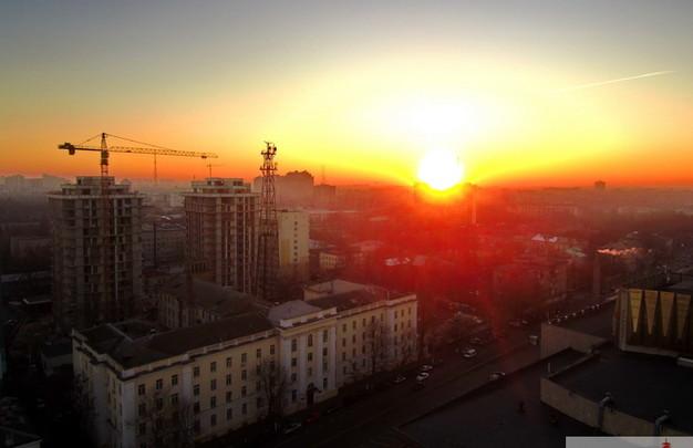 Как выглядит Одесса на закате с высоты птичьего полета (ФОТО, ВИДЕО)