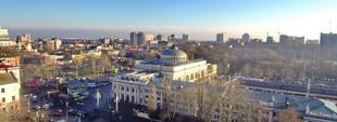 Яркая Одесса от вокзала до Привоза над Старосенной площадью (ФОТО, ВИДЕО)