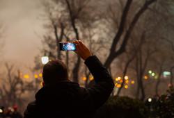 Новогодний салют прогремел над Одессой (ФОТО)