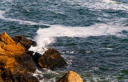 Красивое январское море в Одессе (ФОТО)