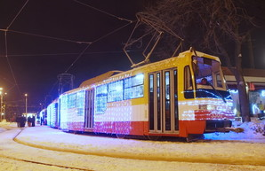 По Одессе проедет рождественский парад трамваев: во сколько и где