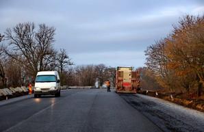 Трасса Одесса - Рени почти отремонтирована (ВИДЕО)