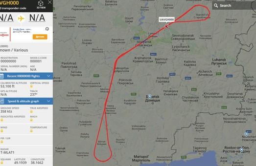 RQ-4A Global Hawk снова мониторит Донбасс