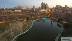 В одесском парке Победы официально открыли светящийся пруд (ФОТО, ВИДЕО)