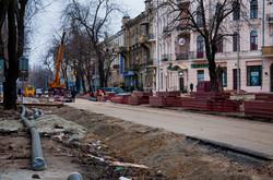 Реконструкция Преображенской в Одессе: снова нашли старинную брусчатку (ФОТО)
