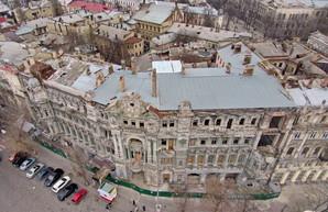В Одессе объявили тендер на восстановление дома Руссова