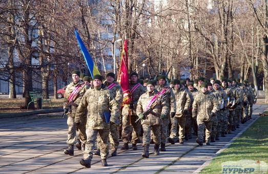 По Одессе прошел масштабный парад ветеранов АТО (ФОТО, ВИДЕО)