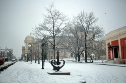 Одессу засыпало снегом (ФОТО)