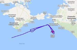 Крым и юг России снова мониторил самолет разведчик ВМС США