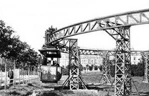 В Одессе испытали одну из первых в мире систем монорельса (ФОТО)