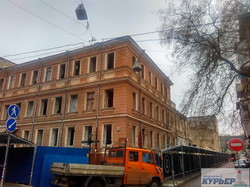 В центре Одессы сносят здания Чайной фабрики (ФОТО, ВИДЕО)