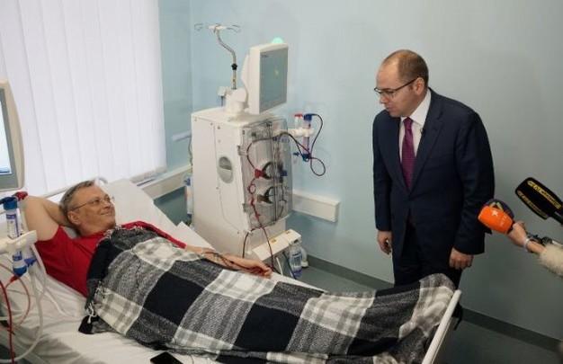 Максим и его команда: глава Одесского облздрава Вячеслав Полясный