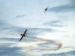 Высший пилотаж - парный полет
