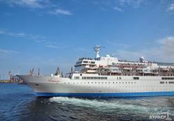 В Одессу заходил лайнер - бывший плавучий отель двух Олимпиад (ФОТО)