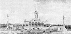 Проекты Одесского морвокзала: от сталинского ампира до имитации океанского лайнера (ФОТО)