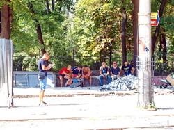 Предвыборное благоустройство трамвайных конечных в Одессе (ФОТО)