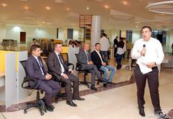 Саакашвили и министр юстиции побывали в новом одесском центре административных услуг (ФОТО)
