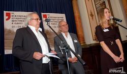 В Одессе стартовал международный литературный фестиваль (ФОТО)
