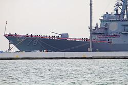 В Одесский порт вошел американский ракетный эсминец: он будет обеспечивать мир в Черном море (ФОТО)
